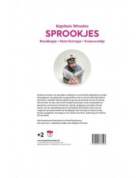 Sprookjesboek + cd - Kapitein Winokio