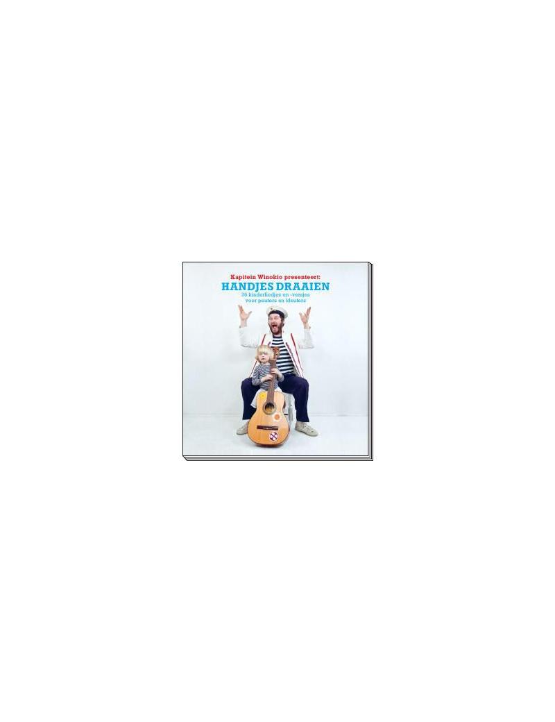Handjes draaien boek + cd - Kapitein Winokio