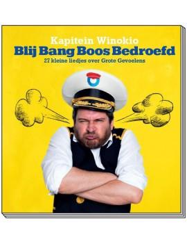 Blij bang boos bedroefd boek + cd - Kapitein Winokio