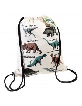 Trekkoord rugzak dinosaurus - Rex London